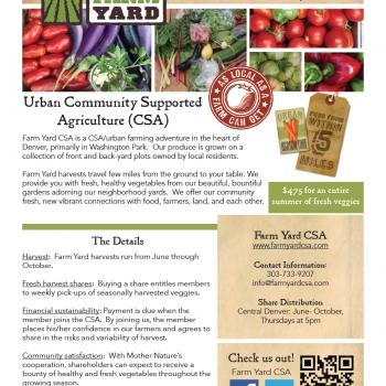 Farm Brochure Design